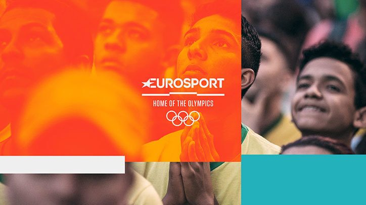 Eurosport's Olympics Motion Graphics